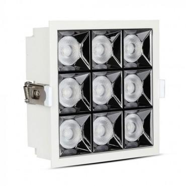 Spot LED 36W cu reflector antiorbire Cip SAMSUNG Alb Neutru