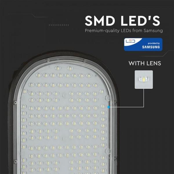 Corp Stradal LED 100W Cip Samsung Alb Neutru