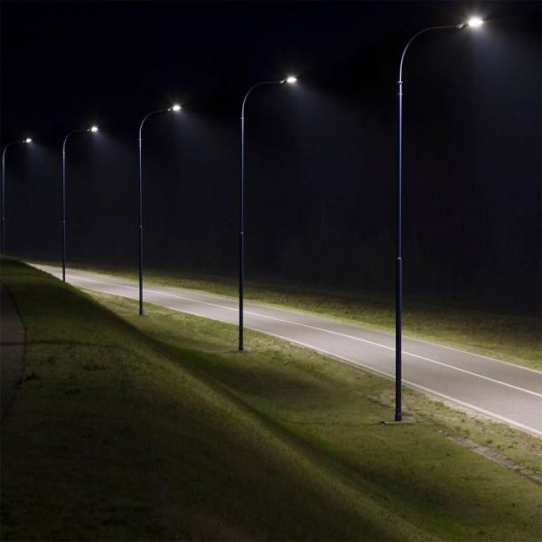 Corp de iluminat stradal LED 42W Philips Ledinaire BRP056 LED55 PSU