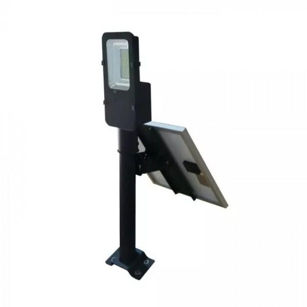 Lampa LED stradala 50W cu panou solar
