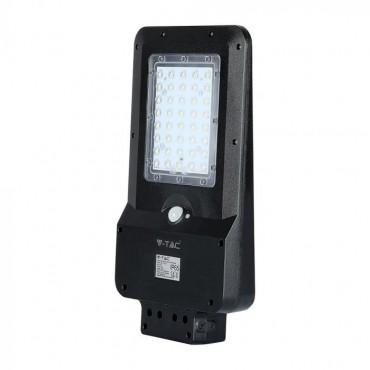 Lampa LED solara stradala 15W cu senzor Alb Neutru