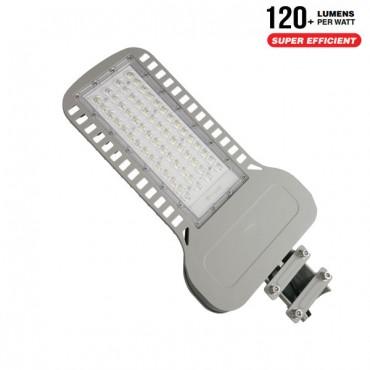 Lampa Stradala LED slim 100W 120lm/W Cip Samsung Corp Gri Alb Neutru